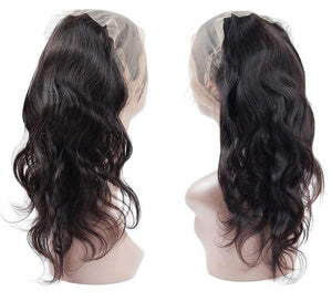 Indian Body Wave 360 Lace Frontal Closure - Exotic Hair Shop