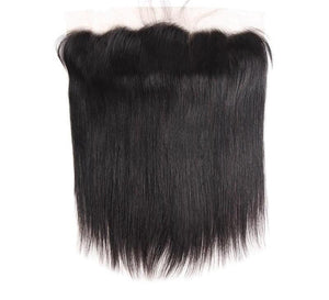"Malaysian Straight Hair Lace Frontal 13""x4"" - Exotic Hair Shop"