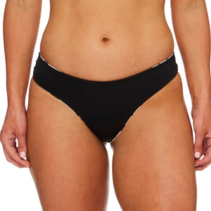 Miss Boracay / Purr leopard black luxury bikini bottom