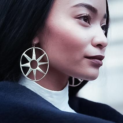 Maiko Suzuki Queen Earrings