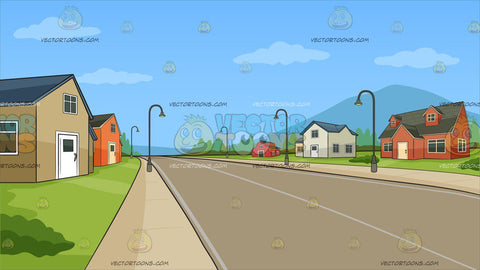 A Neighborhood Subdivision Background