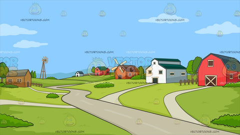A Rural Farming Community Background