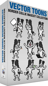 Border Collie Mascot Collection
