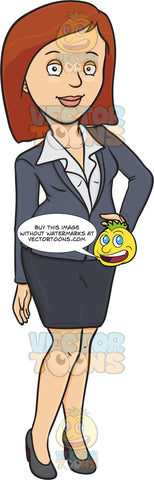 A Woman Wearing A Business Suit