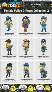 Female Police Officers Collection 2