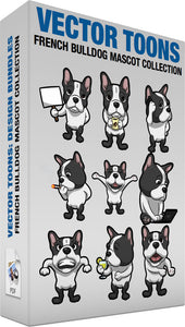 French Bulldog Mascot Collection