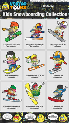 Kids Snowboarding Collection