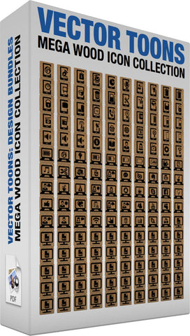 Mega Wood Icon Collection
