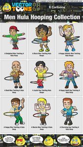 Men Hula Hooping Collection