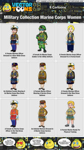 Military Collection Marine Corps Women