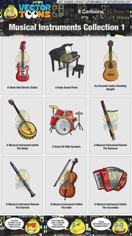Musical Instruments Collection 1