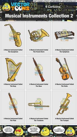Musical Instruments Collection 2