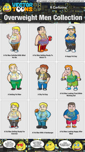 Overweight Men Collection