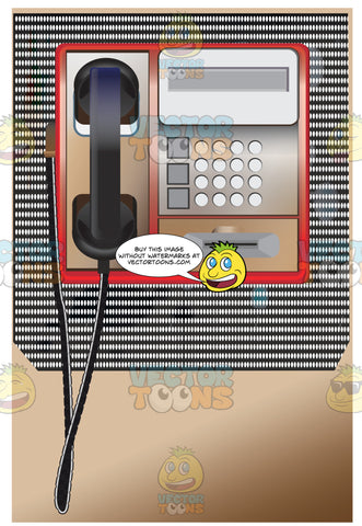 Payphone That Accepts A Credit Card Payment