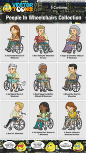 People In Wheelchairs Collection