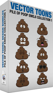 Pile Of Poop Emoji Collection 1