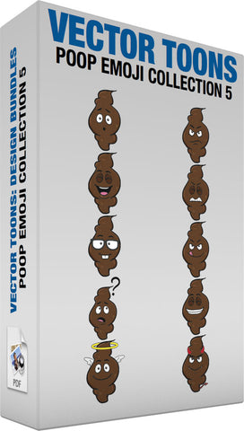 Poop Emoji Collection 5