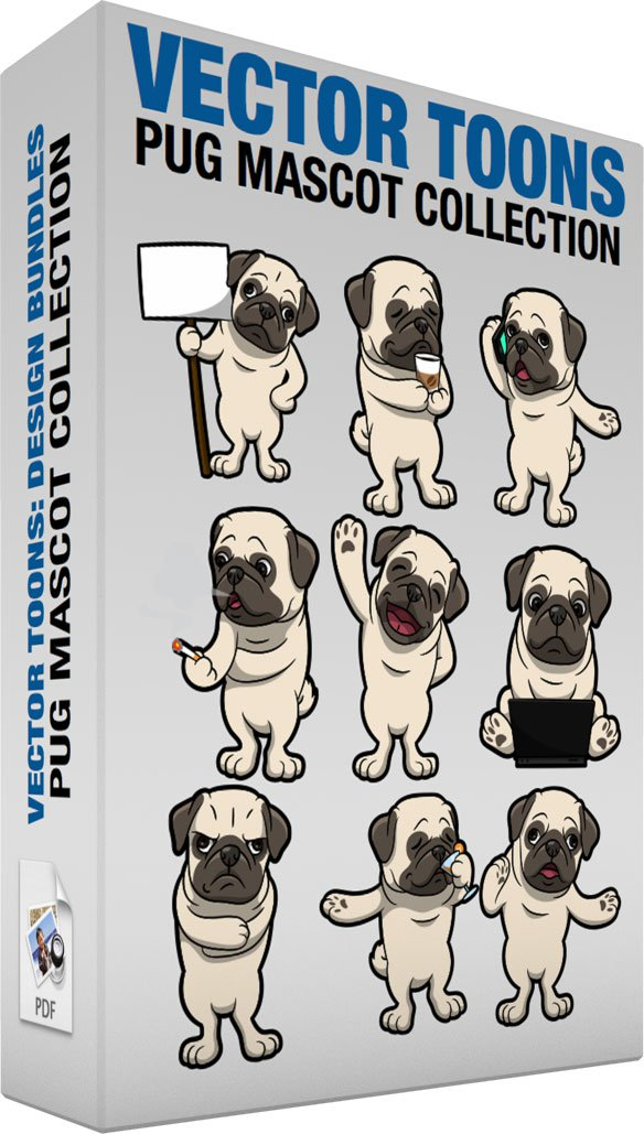 Pug Mascot Collection
