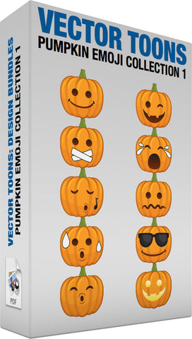 Pumpkin Emoji Collection 1