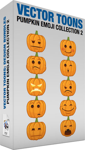 Pumpkin Emoji Collection 2
