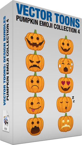Pumpkin Emoji Collection 4