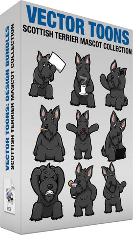 Scottish Terrier Mascot Collection