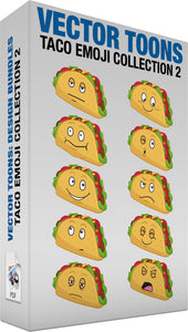 Taco Emoji Collection 2