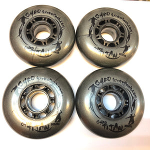 GYRO - Titan 80mm 83a Inline Skate Wheels