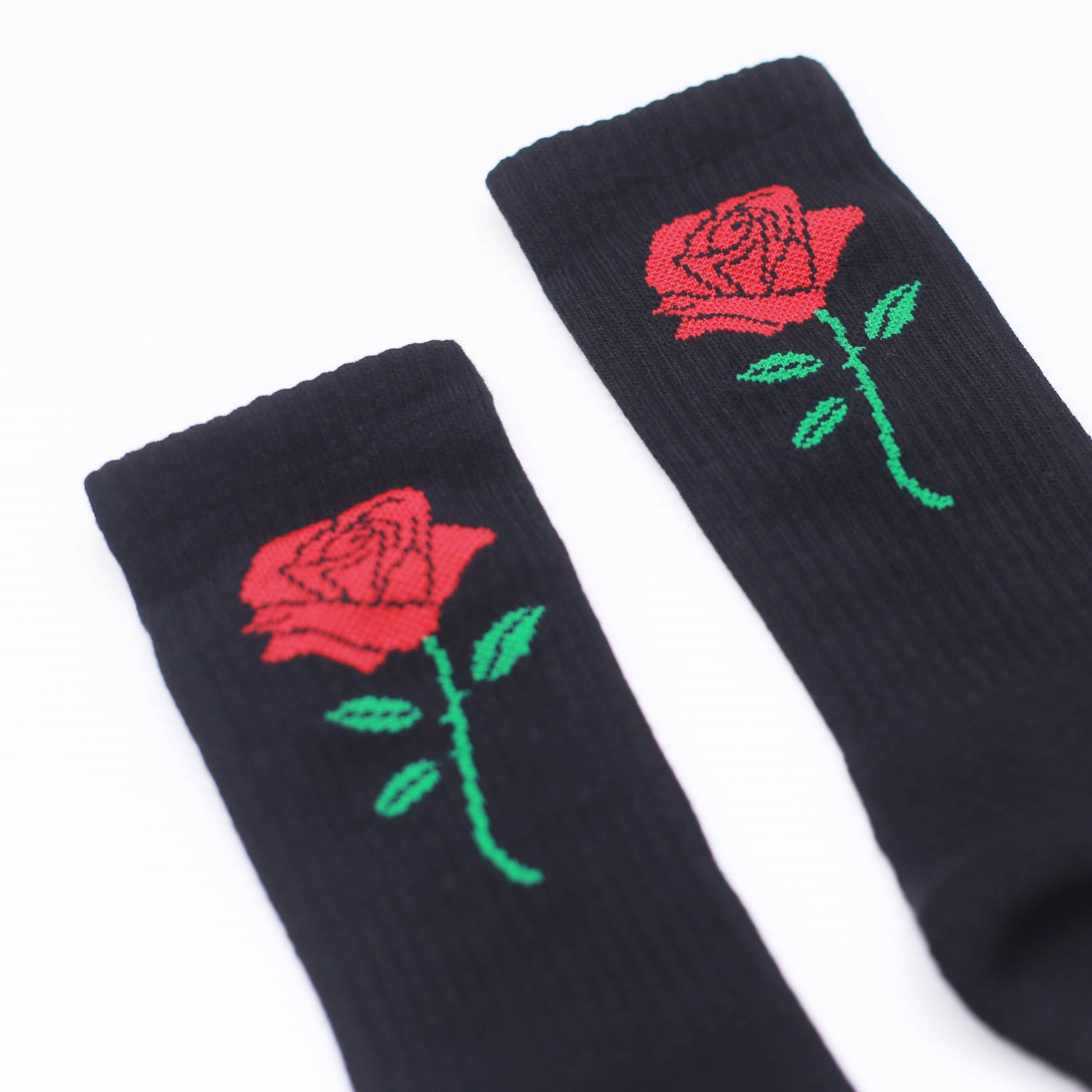 TKSB - Rose Black Socks
