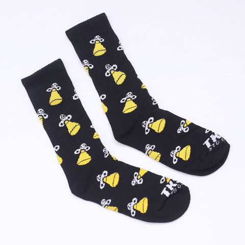 TKSB - Spaceship Black Socks