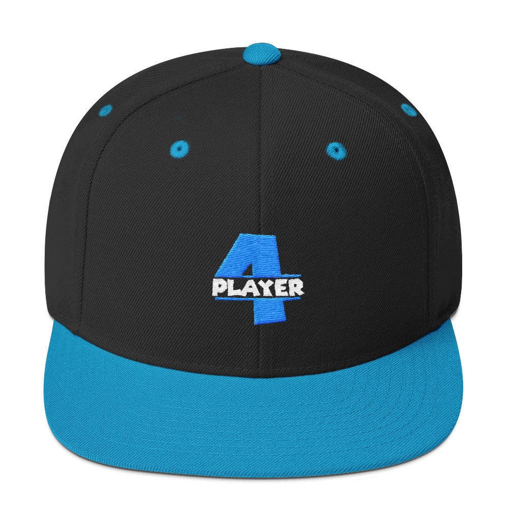 Player 4 Snapback Hat