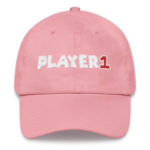 Player 1 - Unstructured Classic Dad Hat