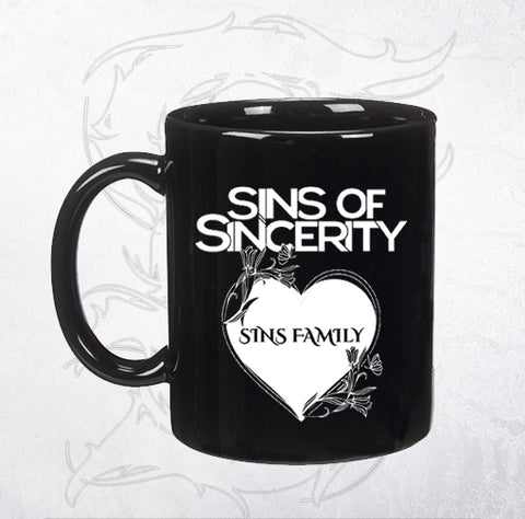 Sins of Sincerity Heart Emblem Mug