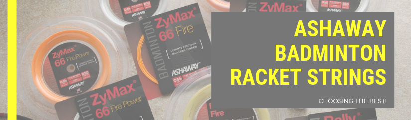 Learn How to make a choice between the different Ashaway Badminton Strings