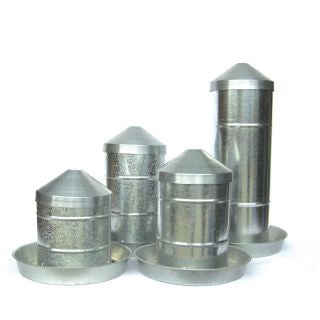 Galvanised Poultry Feeders