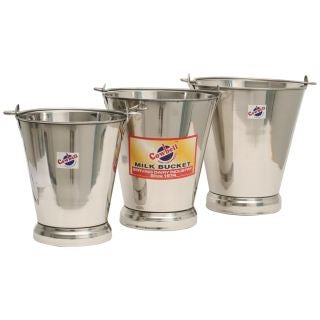 Cowbell Stainless Steel Buckets