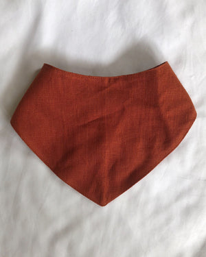 Linen Bandana Bibs - Adi and El