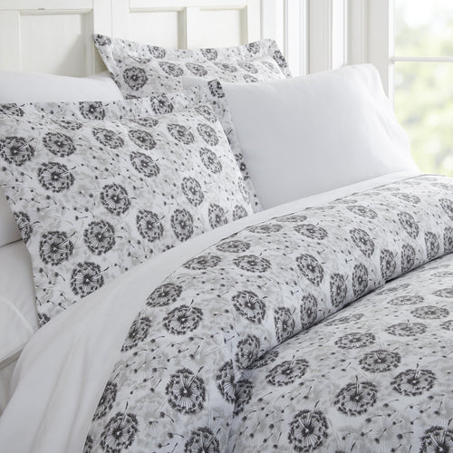 Make A Wish Patterned 3-Piece Duvet Cover Set - Comforter - Linens and Hutch