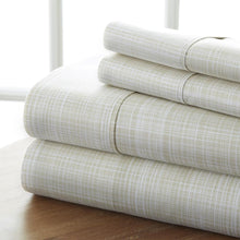 Thatch Patterned 4-Piece Sheet Set - Sheets - Linens and Hutch