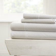 Stippled Patterned 4-Piece Sheet Set - Sheet - Linens and Hutch