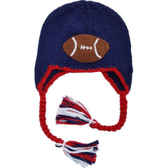 All American Football Earflap Beanie Hat - Beanie Hats
