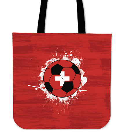 Switzerland Soccer Tote Bag Collection