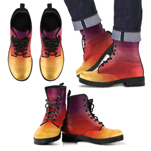 Men's Leather Boots Sunset