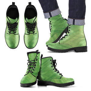 Men's Leather Boots Evergreen