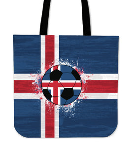 Iceland Soccer Tote Bag Collection