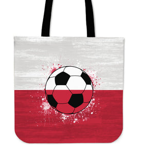 Poland Soccer Tote Bag Collection