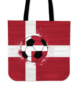 Denmark Soccer Tote Bag Collection