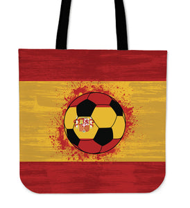 Spain Soccer Tote Bag Collection