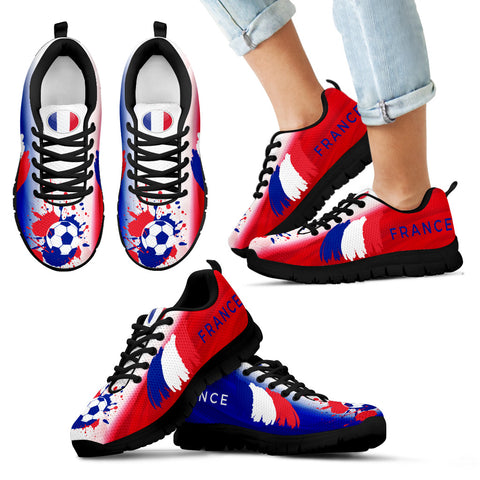 France Soccer World Cup Kid Sneakers