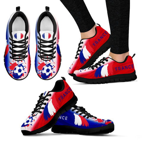 France Soccer World Cup Women's Sneakers